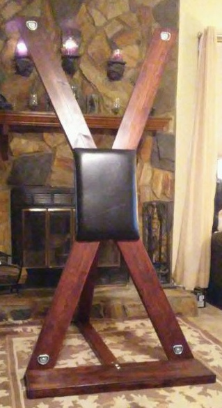 Portable St Andrew Cross - BDSM Dungeon Furniture