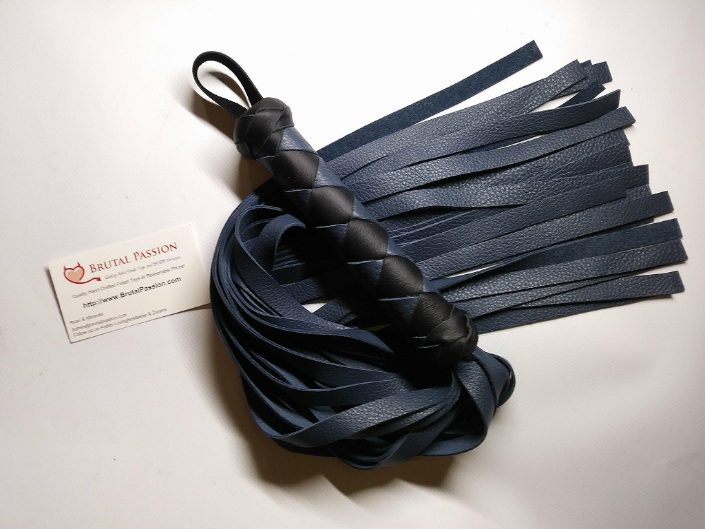 24 Fall Dark Blue Flogger