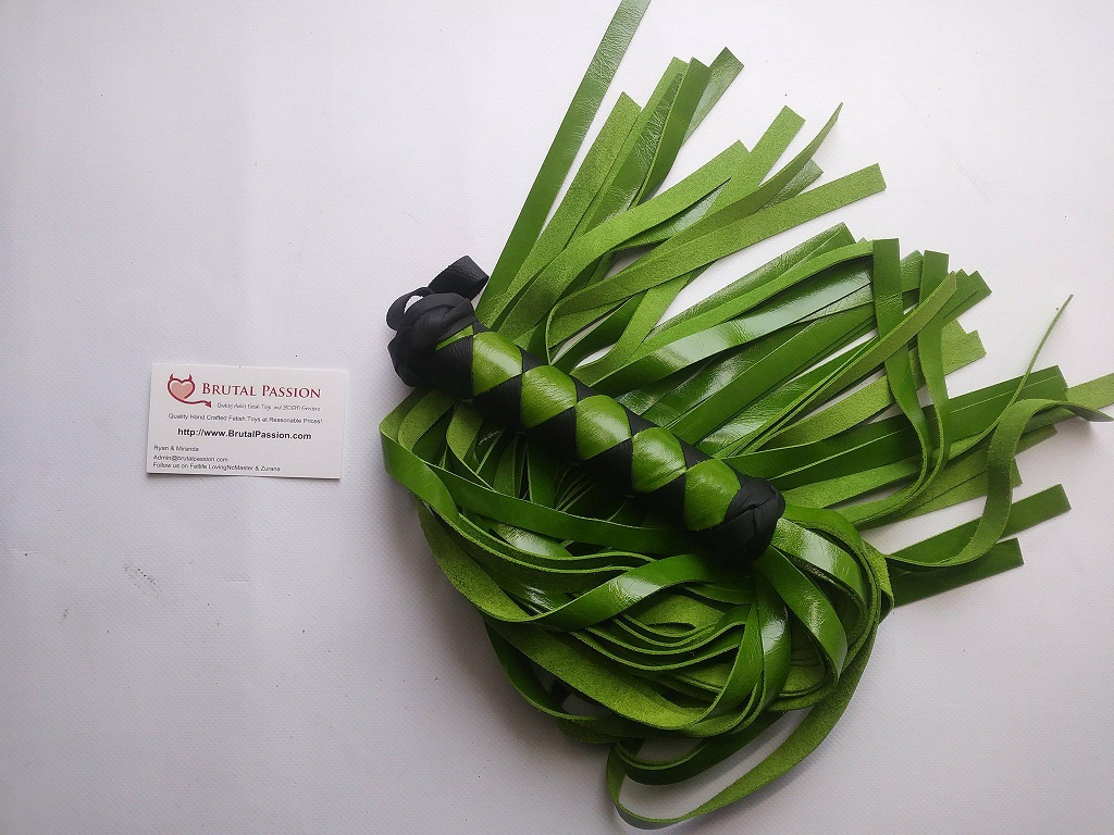 Kiwi Green 32 Fall Flogger
