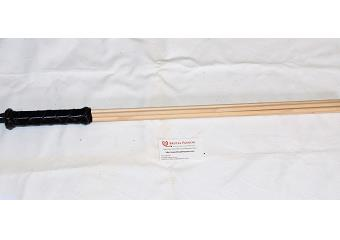 BDSM Impact Toys - Solid Black 24 inch Birch Beater Thumbnail