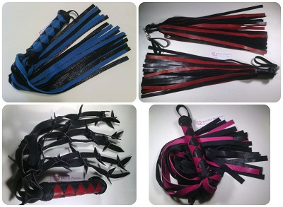 High Quality Leather Floggers
